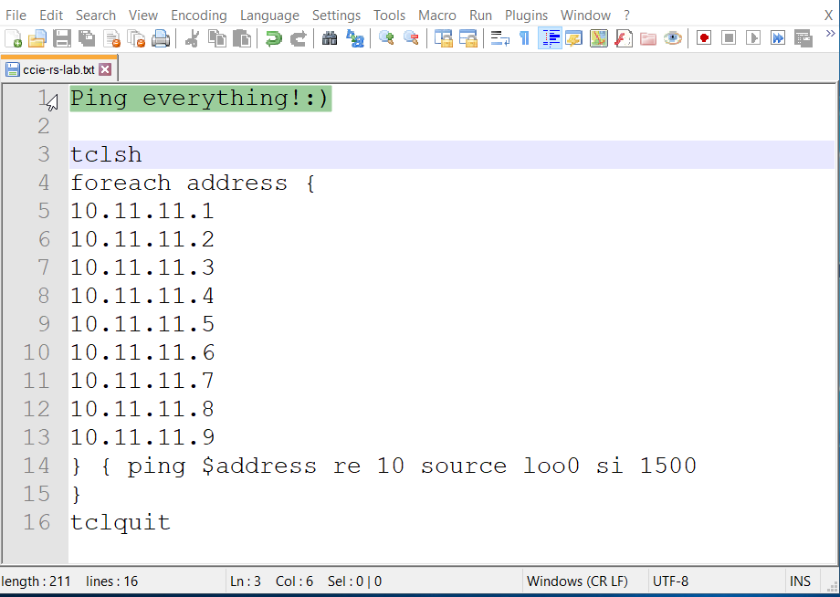TcL Scripting for Cisco IOS (Networking Technology)
