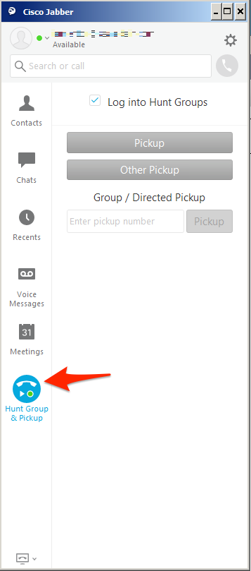 Cisco Jabber Hunt and Call Pickup Groups — Dmitry Golovach